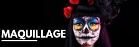 Maquillage pour votre tenue Halloween effet réaliste