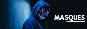 Masques pour Halloween réalistes