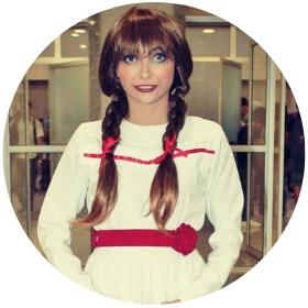 Boutique en ligne costumes Annabelle