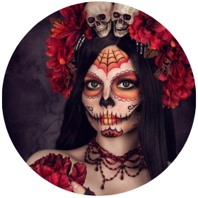 Boutique en ligne costumes Catrina Jour des Morts