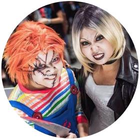 Boutique en ligne costumes Chucke la poupée diabolique