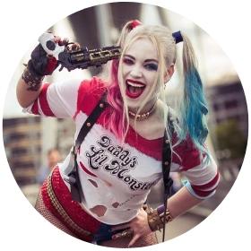 Boutique en ligne costumes Harley Quinn
