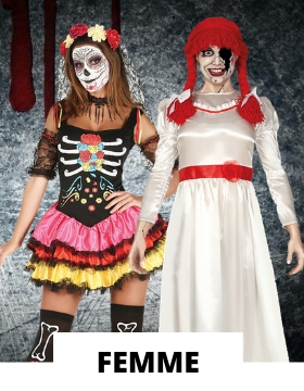 Costume femme pour Halloween