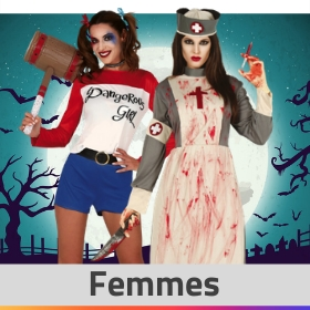 Boutique en ligne déguisements Halloween pour femmes