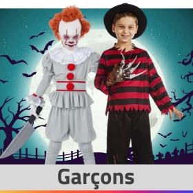 Boutique en ligne déguisements Halloween pour garçons