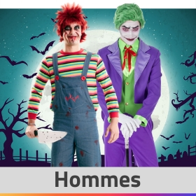 Boutique en ligne déguisements Halloween pour hommes