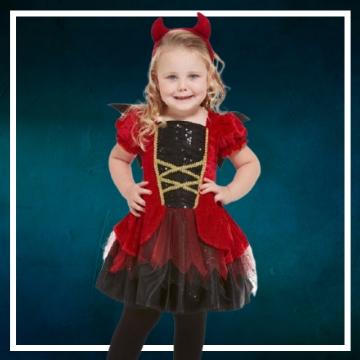 Achetez en ligne les déguisements Halloween de démons taille bébé
