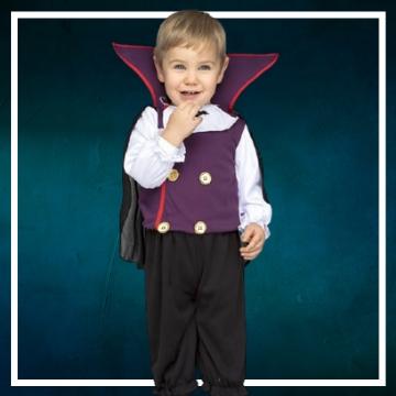 Achetez en ligne les déguisements Halloween de vampire taille bébé