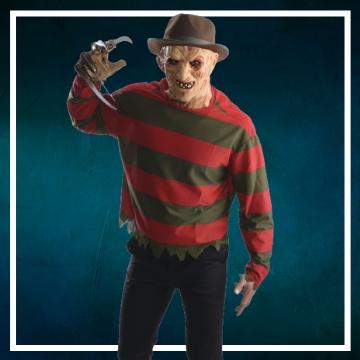 Achetez en ligne les déguisements Halloween de Freddy Krueger