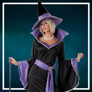 Achetez en ligne les déguisements Halloween de sorcières