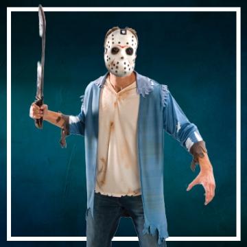 Achetez en ligne les déguisements Halloween de Jason à Vendredi 13