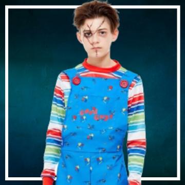 Achetez en ligne les déguisements Halloween de XXX taille enfant