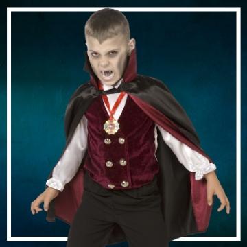 Achetez en ligne les déguisements Halloween de vampires taille enfant