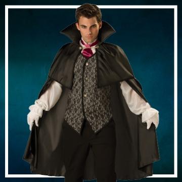 Achetez en ligne les costumes hommes pour devenir Dracula