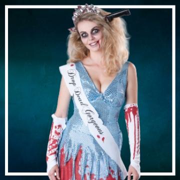 Achetez en ligne les costumes femmes pour devenir une morte-vivante