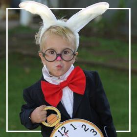 Costumes lapin pour Carnaval et halloween