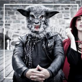 Costumes loup pour Carnaval et halloween