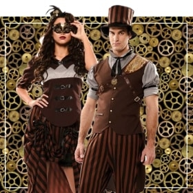 Couples steampunk