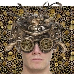 Accessoires steampunk déguisement