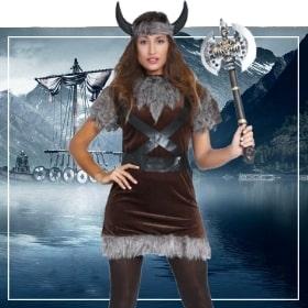 Déguisements Vikings pour femmes