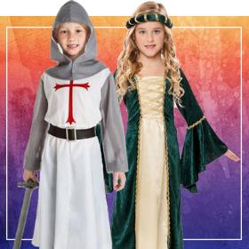 Déguisements Moyen âge pour garçons et filles