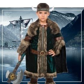 Déguisements vikings garçons