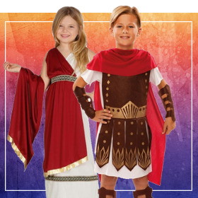 Déguisements Romains pour garçons et filles