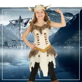 Déguisements vikings pour filles