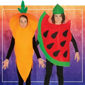 Déguisements fruits pour garçons et filles