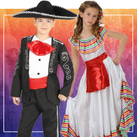 Déguisements Mexicains pour garçons et filles