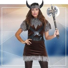 Déguisements viking pour une soirée thématique