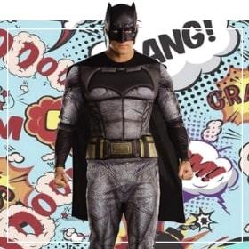 Costumes Batman pour femmes, hommes, garçons et filles