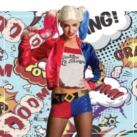 Costumes Harley Quinn pour femmes et filles