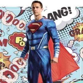 Costumes Superman pour femmes, hommes, garçons et filles