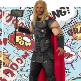 Costumes Thor pour femmes, hommes, garçons et filles