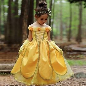 Costumes Princesse Belle pour filles et femmes