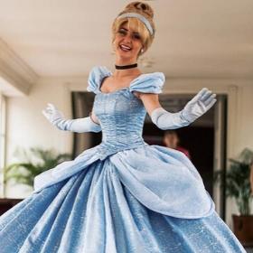 Costumes Princesse Cendrillon pour filles et femmes