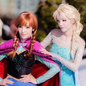 Costumes Princesse Frozen pour filles et femmes