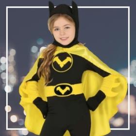 Déguisements super-héroïnes filles pour fêtes et Carnaval