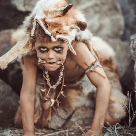 Costumes troglodytes pour fêtes et Carnaval