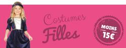 Costumes pas chers pour filles