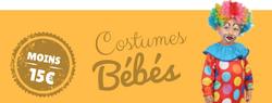 Costumes pas chers pour bébés