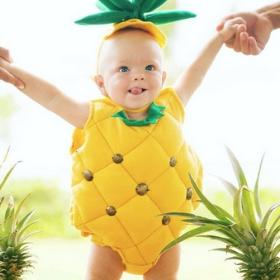 Déguisement fruit pour garçon et fille