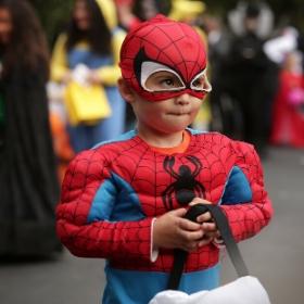 Déguisement super-héros pour garçon et fille