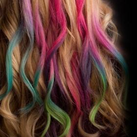 craies cheveux de tous les couleurs