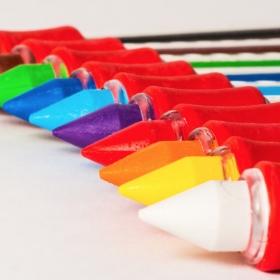 Crayons maquillage de tous les couleurs