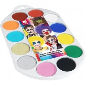 Maquillage à l'eau de tous les couleurs