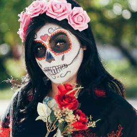 Maquillages halloween de tous les couleurs