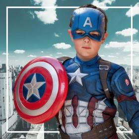 Costumes Captain America pour Carnaval et fête thématiques