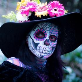 Masques Catrina pour déguisement Halloween